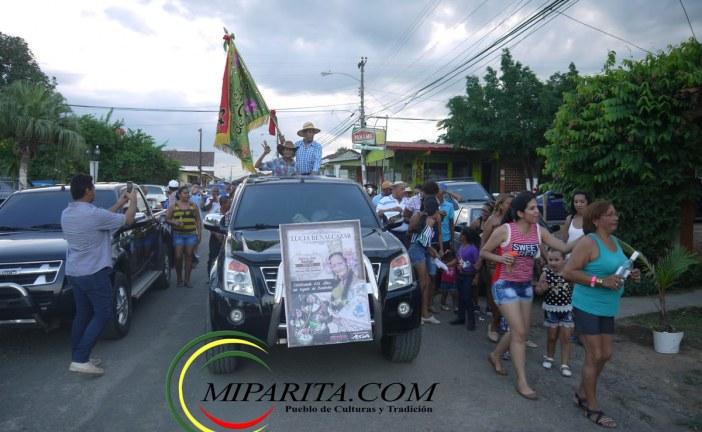Abanderada Fiestas Patronales de Parita 2016